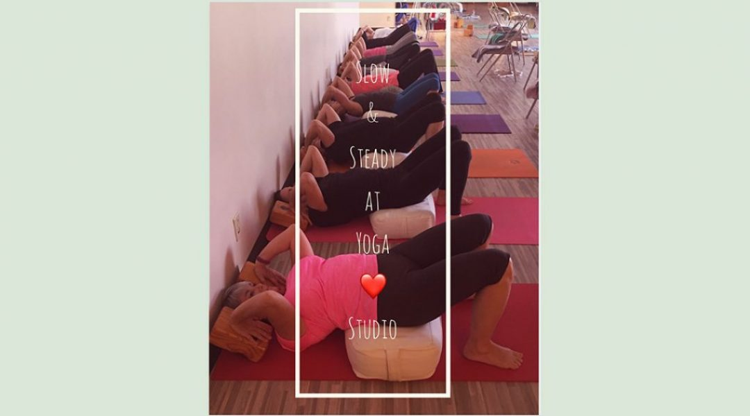slow and steady yoga slider