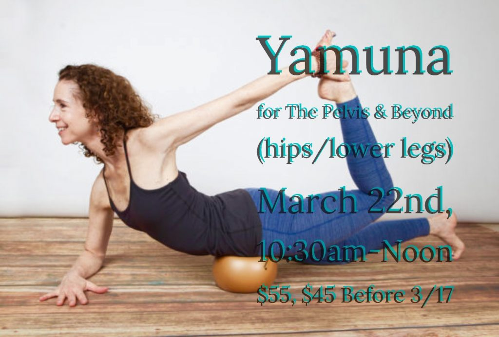 Yamuna for the hips